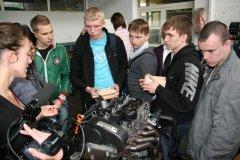 """Besuch von 10 Auszubildenden und 2 Betreuerinnen der Tjumener """"Staatliche Erdöl- und Erdgas-Universität (TSOGU)"""