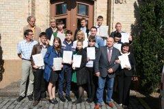 Tjumener Auszubildende zu Gast bei den Berufsbildenden Schulen Celle
