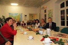 Weihnachtsfeier 2013 zusammen mit einer Delegation aus Tjumen