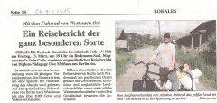 Berlin-Wladiwostok, eine spektakuläre Fahrradtour über 12.500 km von West nach Ost