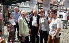 3. von links: Herr A. Christl, Vorsitzender der Russisch-Deutschen Gesellschaft in Tjumen als Gast
